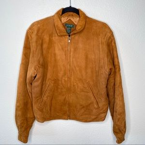 Vintage J Crew Lambskin Suede Jacket ✨